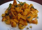 Tangy Baked Sweet Potato Recipe