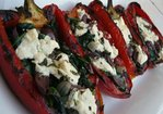 Grilled Stuffed Red Peppers Recipe