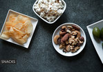 A Trio of Snack Crackers: Chipolte Cheddar, Gorgonzola Walnut, Goat Fig and Olive Recipe