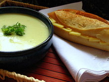 Stinging Nettle and Sour Sorrel Soup Recipe