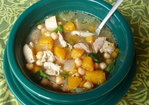 Spicy Butternut Squash &amp; Chicken Soup Recipe