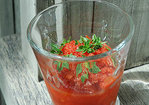 Heirloom Tomato Gazpacho Granita Recipe