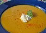 Smoky Butternet Squash and Apple Soup Recipe