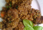 Sausage and Lentil Stew Recipe