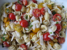 Orechiette With Cherries and Onion Recipe
