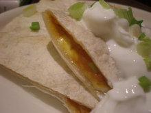 Quick Pumpkin Chile Quesadillas Recipe