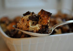 Bourbon Chocolate Bread Pudding Recipe