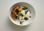 Grilled Mint Julep Peaches Recipe