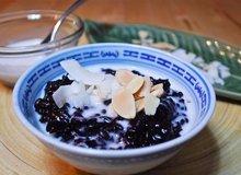 Black Rice, White Sauce Recipe