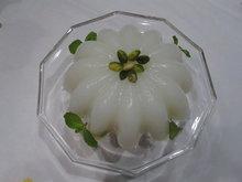 Al Mazieh - Cornstarch Pudding with Rose Water & Nuts Recipe