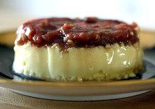 Individual Maple Rhubarb Custards Recipe