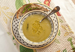 Seared Asparagus Soup with Chervil Recipe