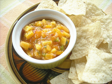 Mango & Peach Salsa Recipe