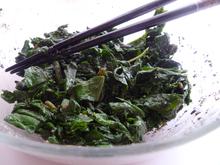 Turnip Green Gomae Recipe