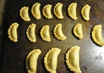 Papa , Mumma and Baby Empanada- Fresh Chickpea and Peas Empanada Recipe