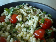 Herbed Couscous Salad with a Hint of Anchovy Recipe