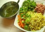 Korean cold noodle salad Recipe