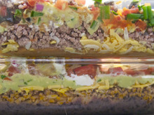 Classic From-a-Can 7-Layer Dip Recipe