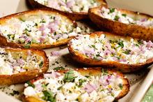 Super Bowl: Greek-Style Potato Skins Recipe