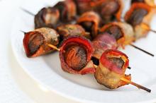 Grilling: Bacon-Wrapped Crimini Mushrooms Recipe