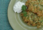 The Crisper Whisperer: Zucchini and Corn Fritters Rule the World. For Reals Recipe