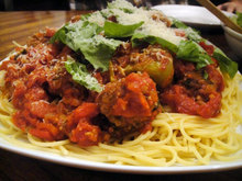 Cook the Book: Bobby Flay's Spaghetti and Meatballs Recipe