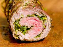 Grilling: Chimichurri-Stuffed Flank Steak Recipe
