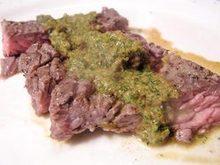 Dinner Tonight: Skirt Steak With Chimichurri Sauce Recipe