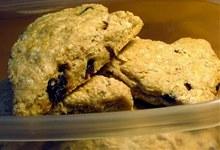 Cardamom and Dried Cherry Scones Recipe