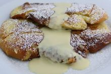 Challah Pain Perdu with Vanilla Crème Anglaise Recipe