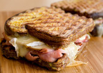 Cook the Book: Ham, Brie, and Apple French Toast Panini Recipe