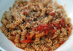Dinner Tonight: Spicy Roasted Tomato and Pepper Sauce Recipe