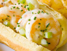 Eat for Eight Bucks: Shrimp Rolls with Homemade Chive Mayo Recipe