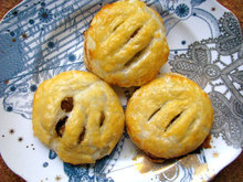 Eccles Cakes (Stuffed Pastry with Brandy-Soaked Raisins) Recipe