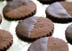 Fine Cooking's Chocolate-Glazed Chocolate-Hazelnut Cookies Recipe