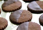Fine Cooking's Chocolate-Glazed Chocolate-Hazelnut Cookies Recipe