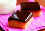 Fine Cooking's Peanut Butter and Chocolate Shortbread Bars Recipe