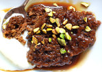 Sticky Toffee Pudding with Port Toffee Sauce Recipe