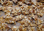 Spicy Pumpkin Seed-Pecan Brittle Recipe