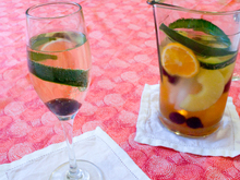 Drink the Book: Champagne Cup Recipe