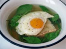 Dinner Tonight: Provencal Fried Egg Soup Recipe