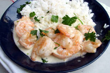 Dinner Tonight: Shrimp with Pastis Cream Sauce Recipe