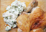 Sunday Supper: Brick Chicken with Smashed Potatoes Recipe
