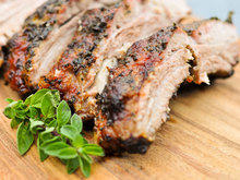 Grilling: Herb-Encrusted Baby Back Ribs Recipe