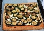 Dinner Tonight: Zucchini, Mushroom, and Goat Cheese Tart Recipe
