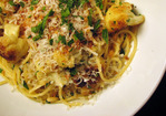 Dinner Tonight: Spaghetti with Sauted Cauliflower, Raisins, and Pine Nuts Recipe