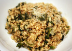 Dinner Tonight: Farro Risotto with Rapini Recipe