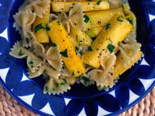 Dinner Tonight: Farfalle with Summer Squash Recipe