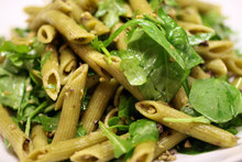 French in a Flash: Green Tapenade Pasta Salad Recipe