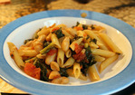 Dinner Tonight: Kale and White Bean Pasta Recipe